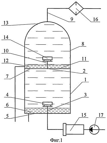 Устройство термогравитационной очистки турбинных и транспортных масел от механических примесей и воды