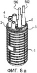 Корпус для соединения и разводки кабелей связи с соединяющей частью, полыми вытянутыми цилиндрическими элементами и присоединяемой частью