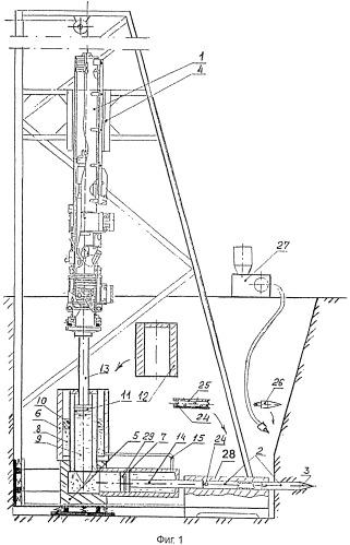 Устройство для образования скважин в грунте ударным способом