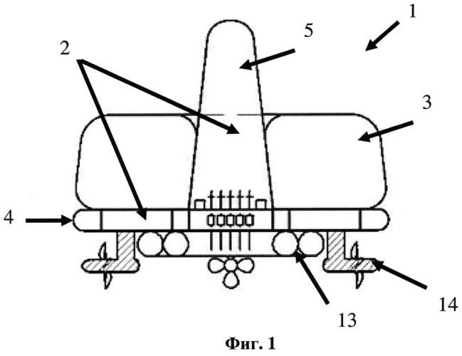 Подводное сооружение для бурения нефтегазовых скважин и добычи углеводородов и способы его транспортировки, монтажа и эксплуатации