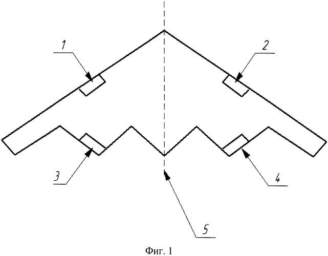 Самолетная антенно-фидерная система