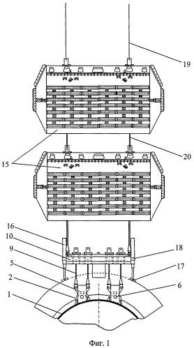 Система для подъема затонувших подводных лодок
