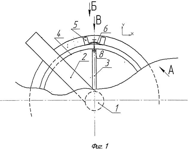 Ротор сегментного ветроэлектроагрегата