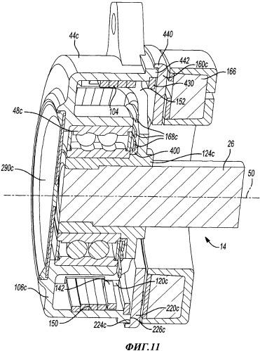 Механизм сцепления со спиральной пружиной, содержащий исполнительный механизм, приводящий спиральную пружину в зацепление с поверхностью сцепления