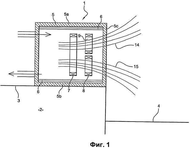 Датчик и способ измерения уровня поверхности металла в жидкой фазе