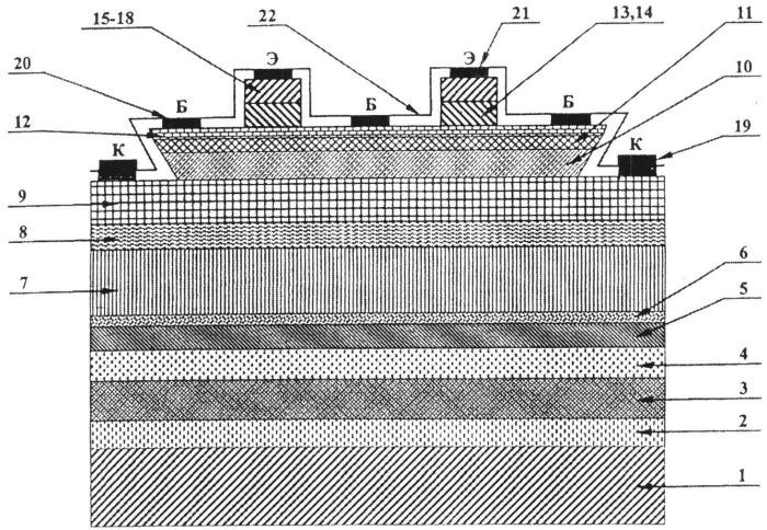 Биполярный транзистор свч
