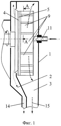 Фильтрующее устройство для разделения суспензий, преимущественно крахмалсодержащих