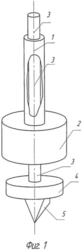 Ручной инструмент ударного действия для разрушения льда-гололед-1