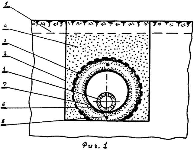 Дренажное устройство с кольцевым эраном