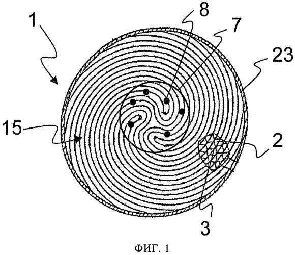 Сотовый элемент из фольги и способ его изготовления
