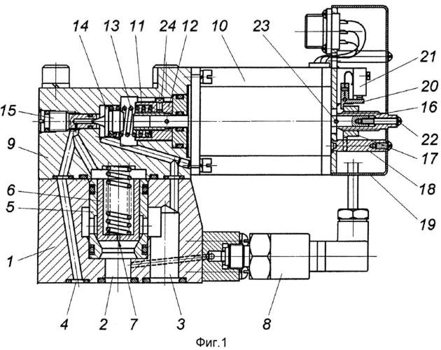 Цифровой предохранительный клапан непрямого действия с электроуправлением