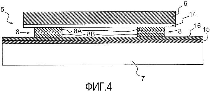 Решетка фотогальванических ячеек с механическим разъединением ячеек относительно их опоры