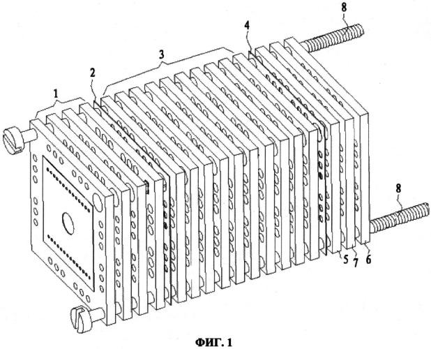 Трубка для измерения подвижности ионов