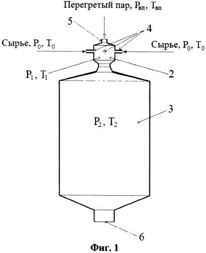 Способ и устройство переработки тяжелого нефтяного сырья