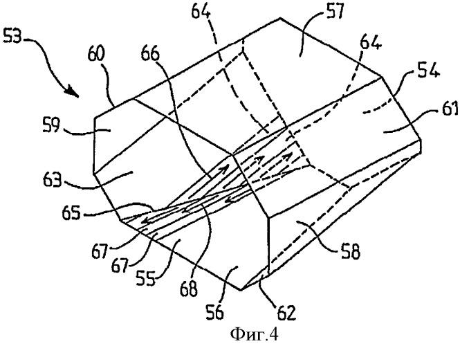 Имеющий двунаклонную вершину носовой резервуар для спг