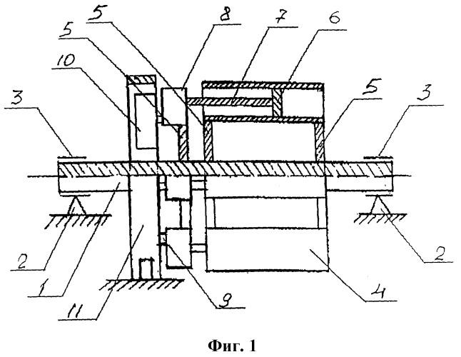 Способ преобразования возвратно-поступательного движения поршней в цилиндрах поршневого ротора во вращательное движение ротора и передаточный механизм