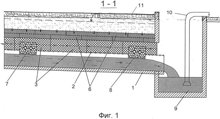 Горизонтальный подземный водозабор комбинированной конструкции