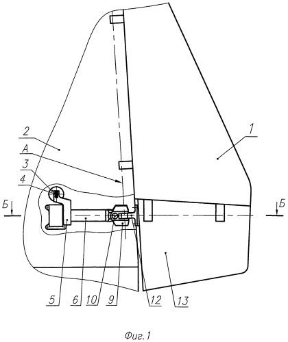 Механизм управления элевоном