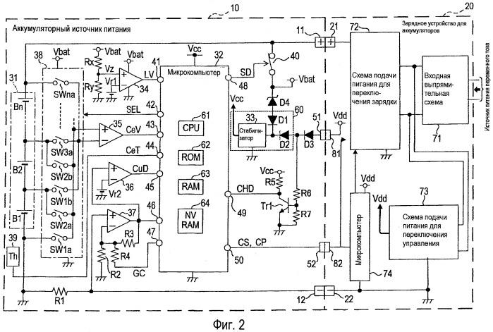Система мониторинга электрического приводного инструмента, аккумуляторный источник питания электрического приводного инструмента и зарядное устройство для аккумуляторов электрического приводного инструмента
