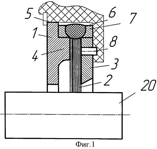 Щеточное уплотнение роторов, способ и устройство для его изготовления