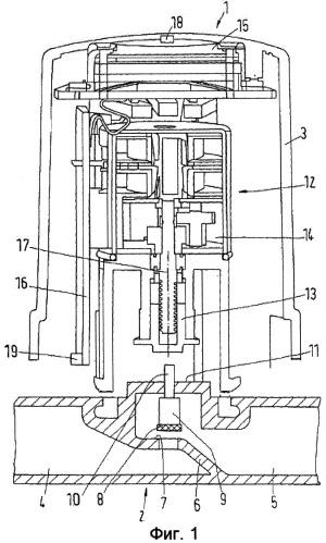 Управляемое клапанное средство для теплообменника
