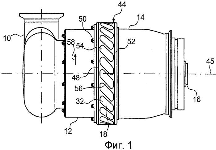 Воздушый стартер для турбодвигателя