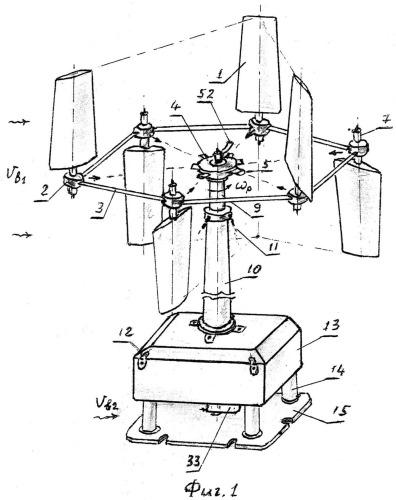 Циклоидный ветродвигатель