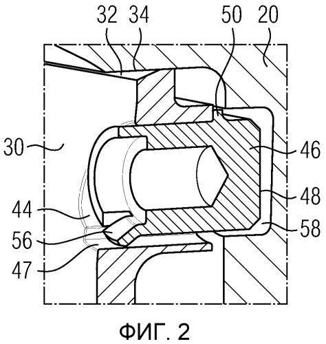 Секция ротора для ротора турбомашины