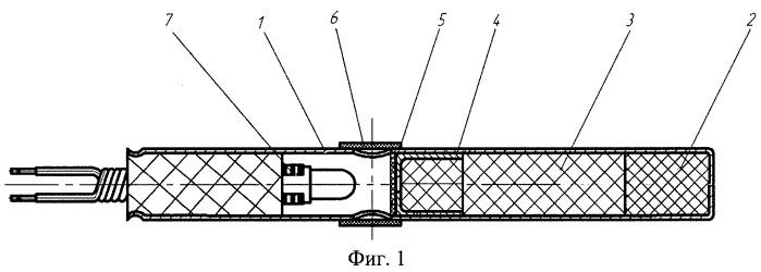 Герметичное устройство для поджига термитных составов