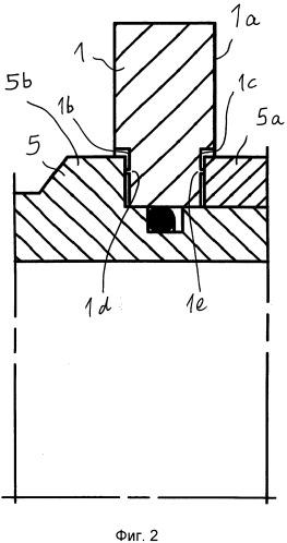 Скользящее кольцевое уплотнение с вращающимся контркольцом с точно определенным зажимом