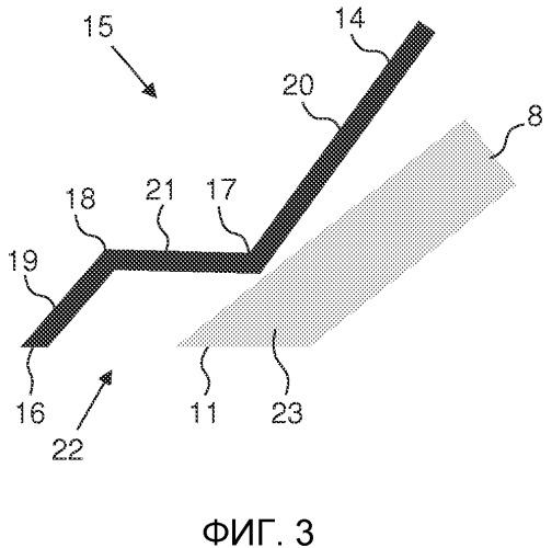 Несущий элемент для бритвенного устройства, содержащего пары из режущего элемента и поднимающего волоски элемента