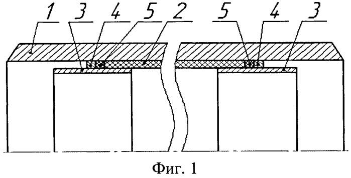 Способ соединения труб металлических с внутренней трубой пластмассовой