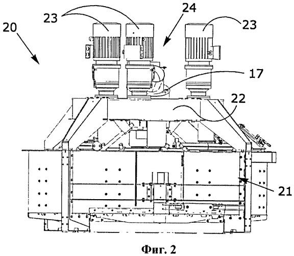 Модульная планетарная бетономешалка для производства бетона