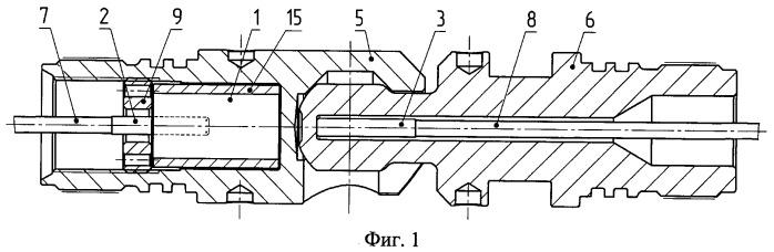 Узел соединения и передачи детонации кумулятивного корпусного перфоратора