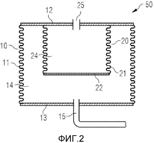 Компенсатор давления для подводного устройства