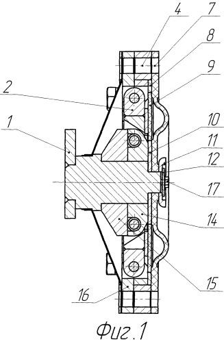 Мембранный узел машины объемного вытеснения