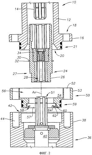 Соединительное переходное устройство для электрической погружной насосной системы