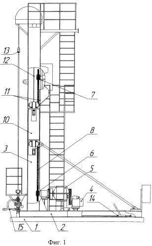 Цепной привод скважинного штангового насоса