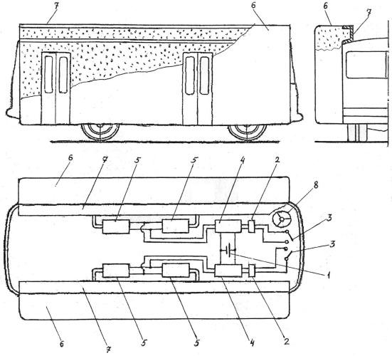 Система пассивной безопасности автобуса