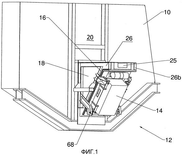Устройство для индуцирования потока в расплавленном материале