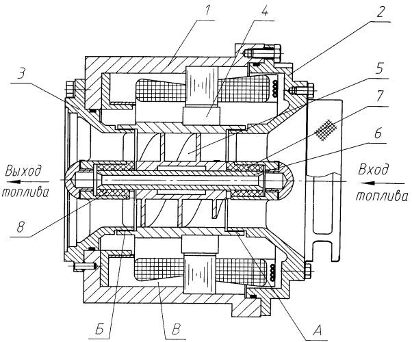 Герметичный осевой электроприводной насосный агрегат