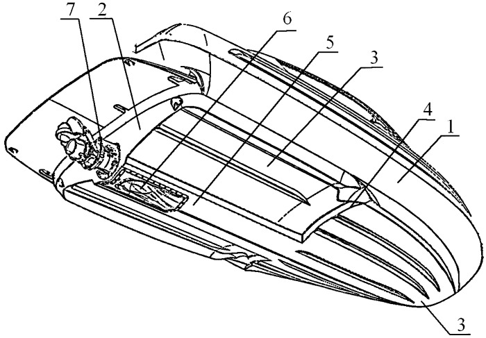 Реданный катер с водометным движителем