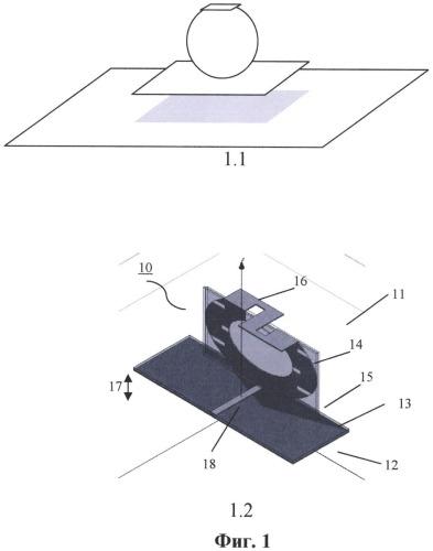 Сверхширокополосная компактная антенна