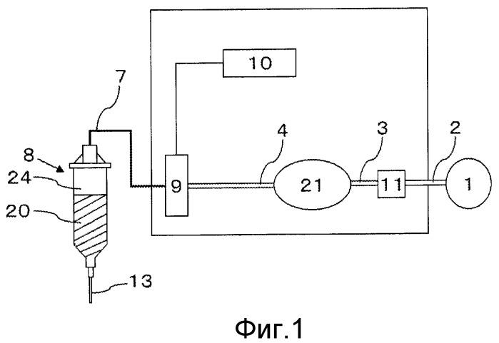 Способ и устройство для выпуска фиксированного количества жидкости