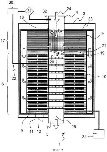 Устройство для выработки электрической энергии с использованием тепла отработавших газов