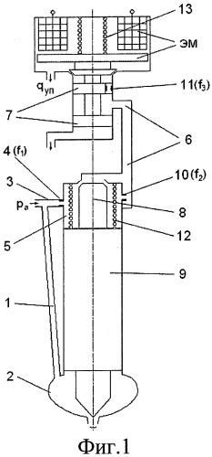 Электрогидравлическая форсунка для дизеля