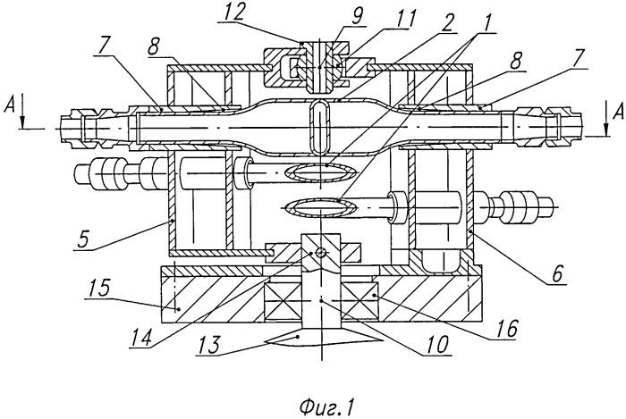 Компенсатор угловых перемещений трубопроводов