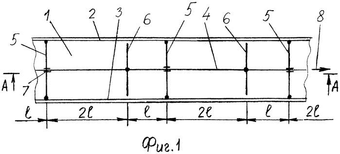 Трехцепной скребковый конвейер