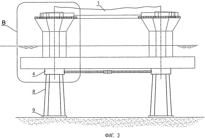 Морская плавучая платформа