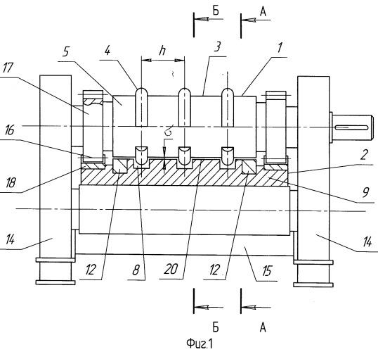 Способ и стан для листовой рельефной формовки профилей высокой жесткости